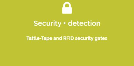 tattle tape and rfid security gate