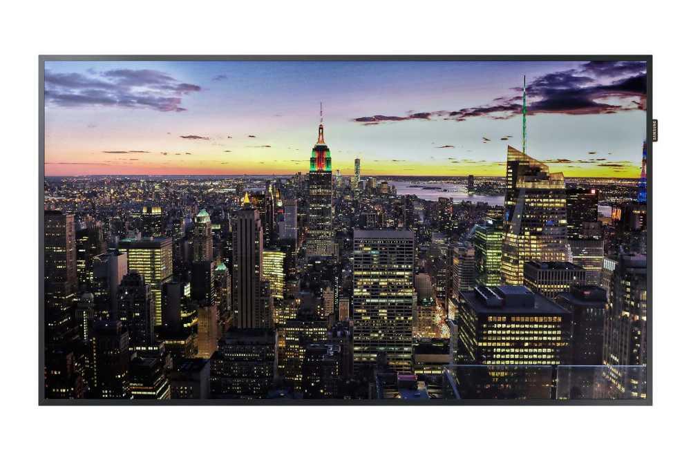 Samsung Large Format Display, Samsung Video Wall, Samsung SMART